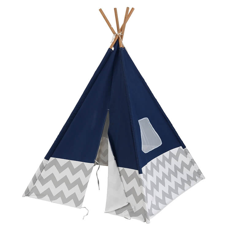 navy-and-grey-chevron-teepee