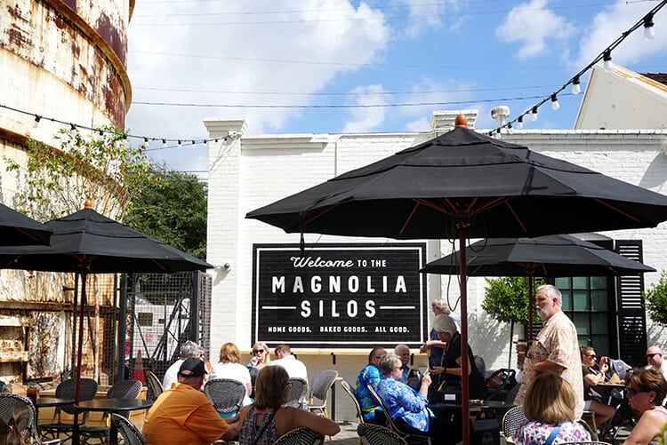 The silos at magnolia market waco tx happiness is for Magnolia farms waco tx