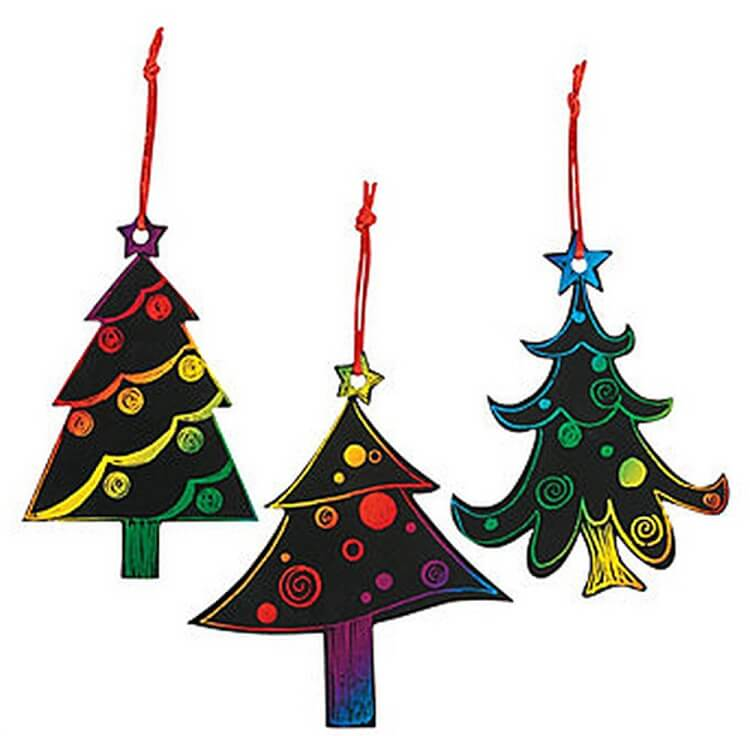 scratch-art-christmas-trees