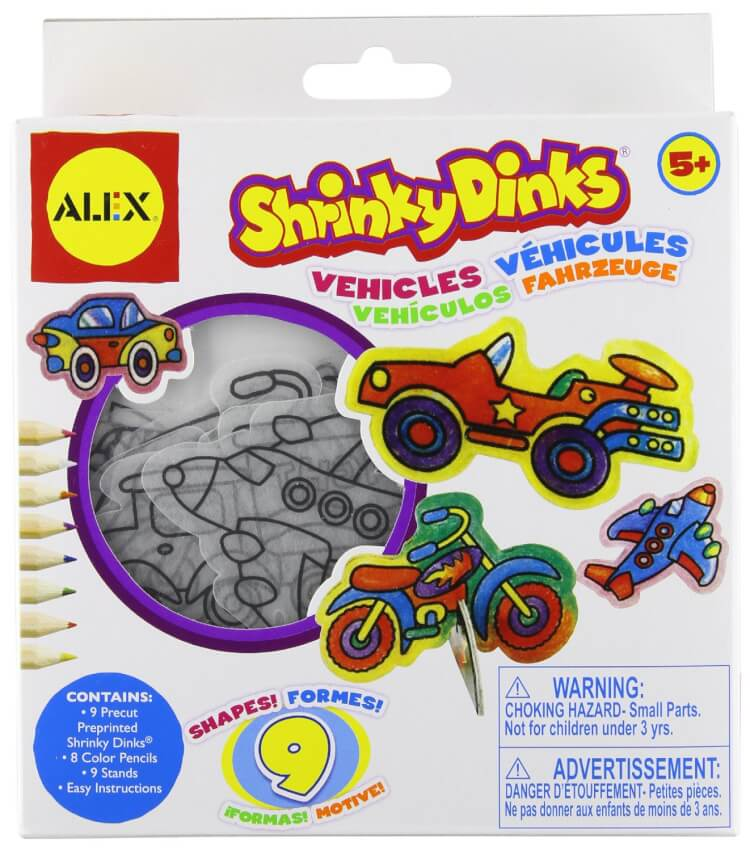 shrinky-dinks-mini-vehicles