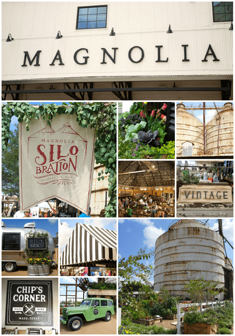 Silobration is a weekend full of family fun in Waco, Texas at The Silos at Magnolia Market (owned by Chip and Joanna Gaines of HGTV's Fixer Upper) that includes live music concerts, food trucks, a vendor fair, lawn games, yummy baked treats, shopping, and lots more!