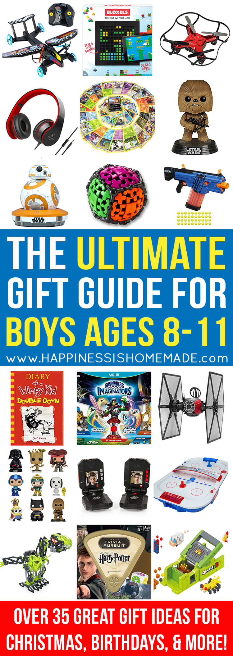 The Best Gift Ideas for Boys 8-11 - The Ultimate Gift Guide for Boys