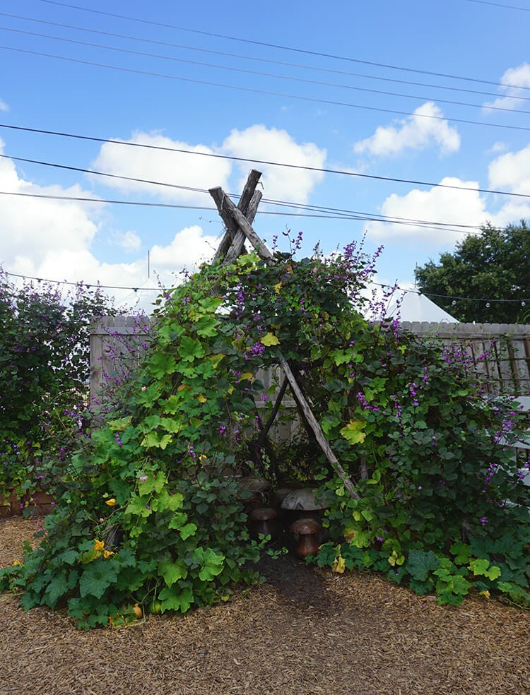vine-covered-teepee-playhouse