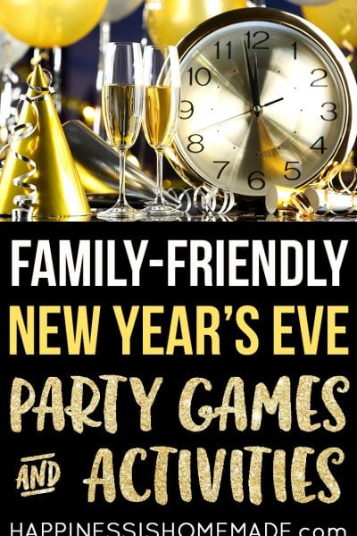 New Year's Eve Party Games & Activities