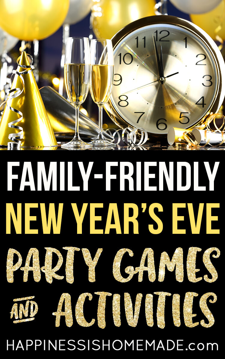 New Year's Eve Games & Activities - Happiness is Homemade