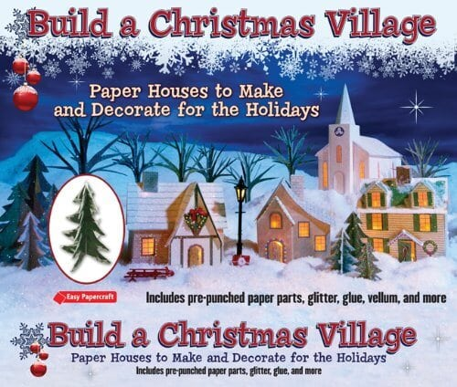 paper-christmas-village