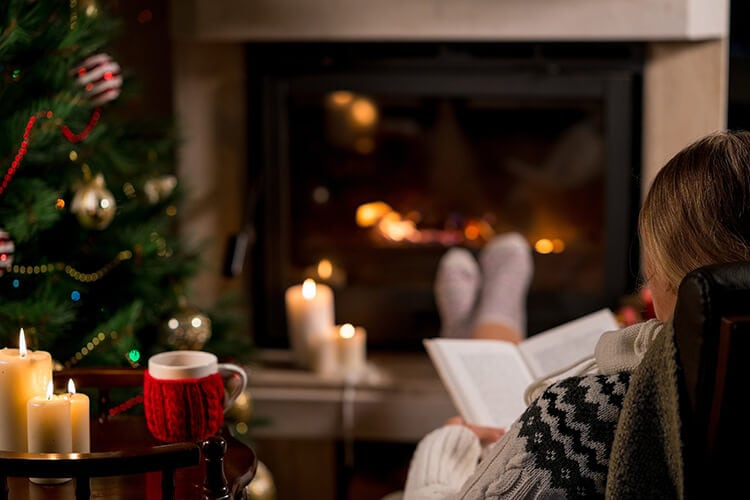 Read a Book to Reduce Holiday Stress