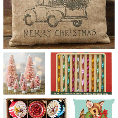 Nostalgic Vintage Inspired Christmas Decor
