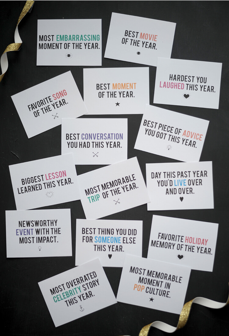 new years game printable 2