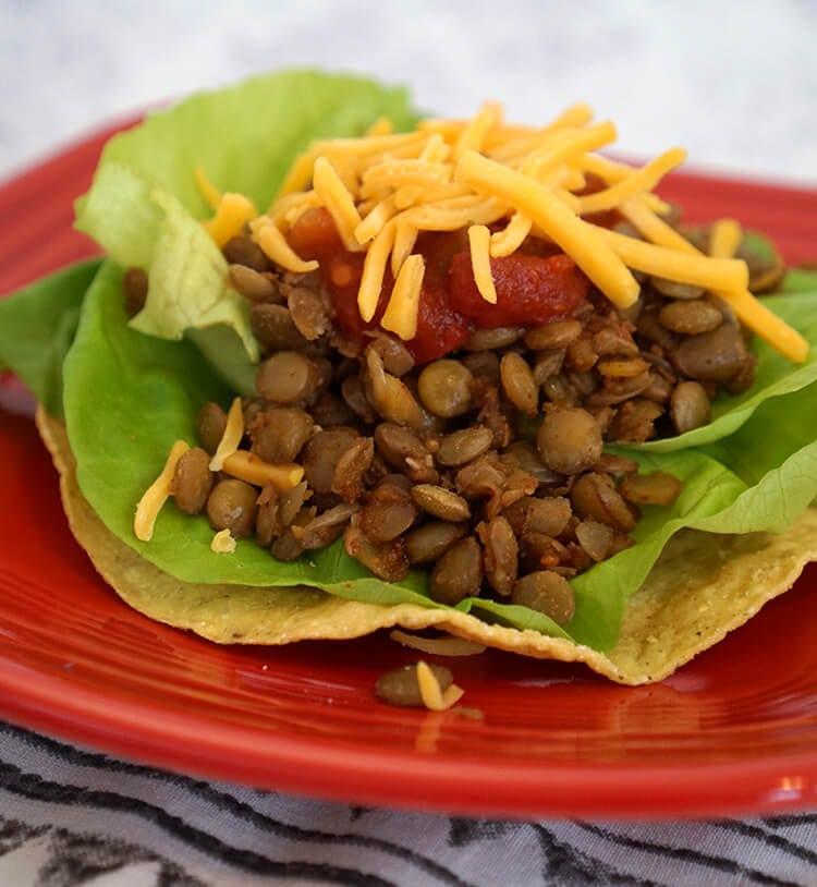 lentil-taco-meat-tostada-2