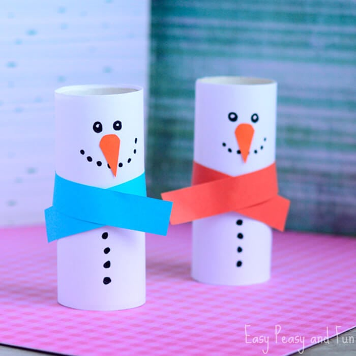 paper-roll-snowman-craft