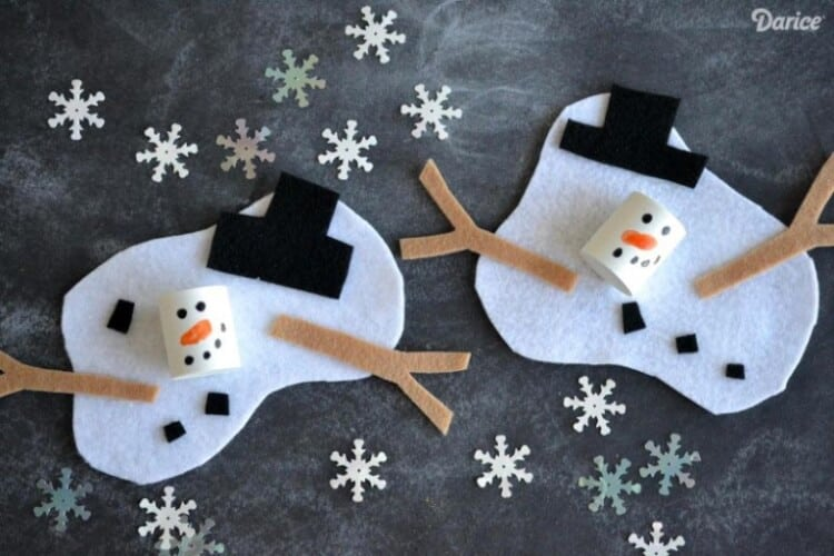 easy winter kids crafts that anyone can make