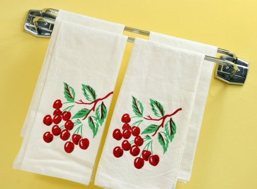 cherries-flour-sack-towels