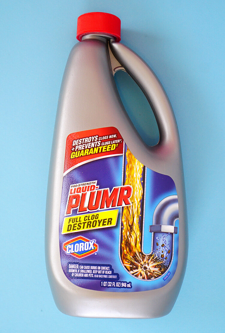 Clean Drains with Liquid Plumr