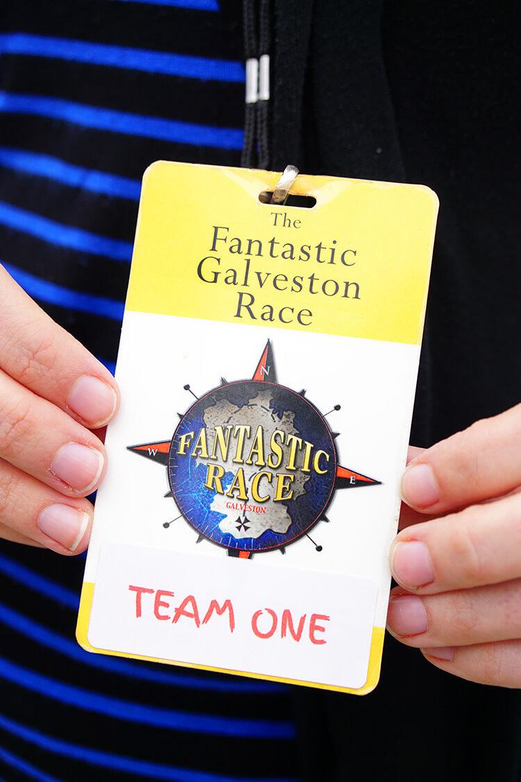 Fantastic Galveston Race Badge