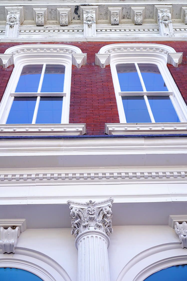 Historic Building in Galveston Texas