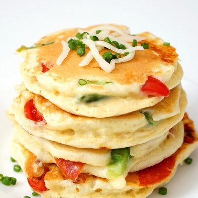 Pizza Pancakes – Quick & Easy Dinner Idea