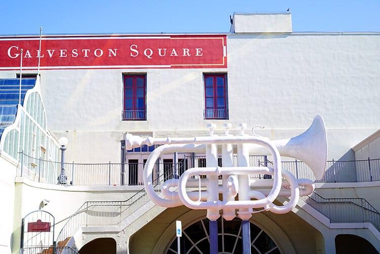 Trumpet at Old Galveston Square