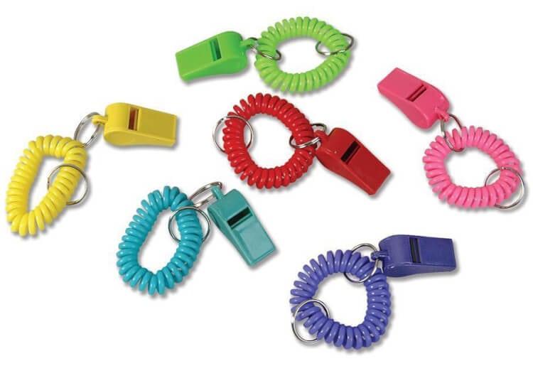 Keychain Whistles