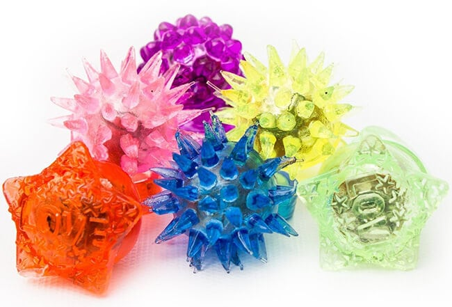Light Up Jelly Rings