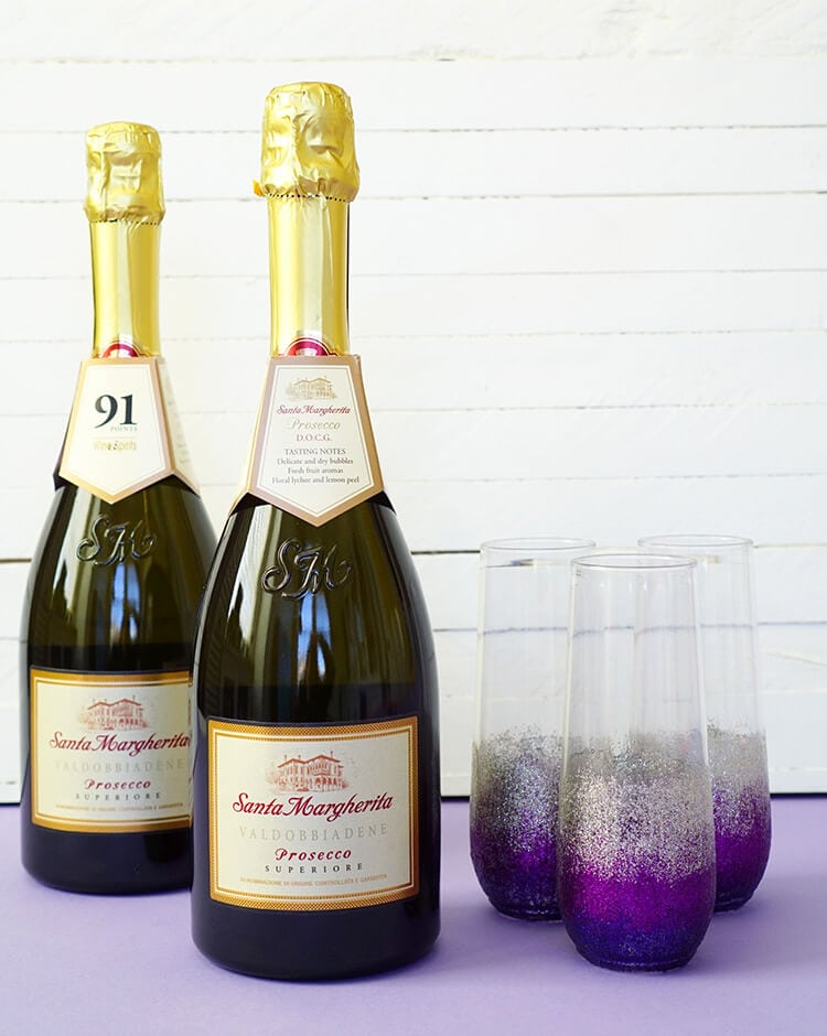 Lavender Lemonade Prosecco Cocktail