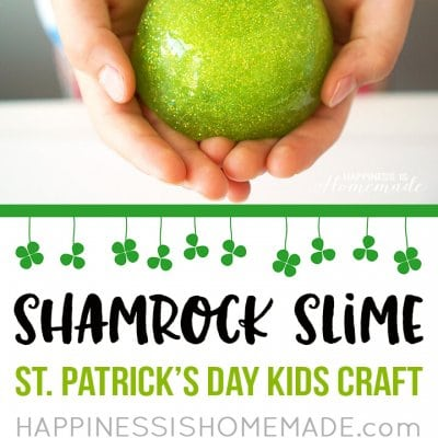 Shamrock Slime – St. Patrick's Day Kids Craft