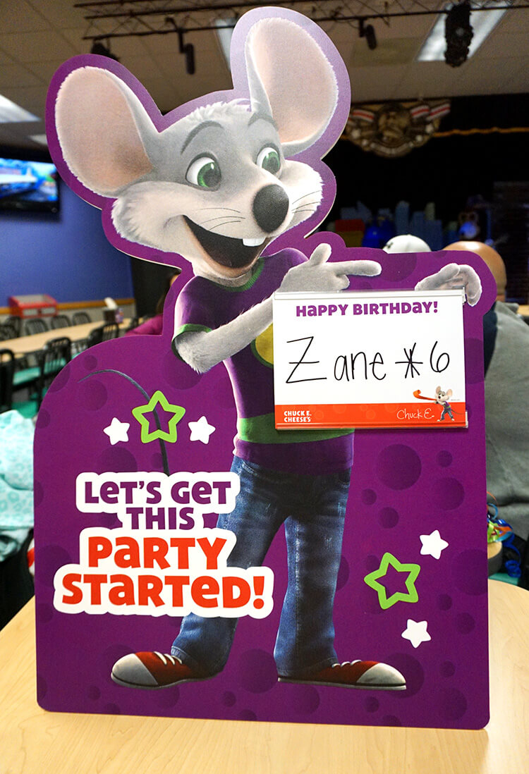 photo about Chuck E Cheese Coupon Printable named Greater, Much better Birthday Events at Chuck E. Cheese