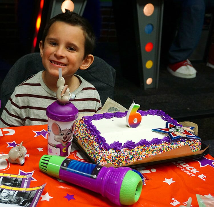 Bigger Better Birthday Parties at Chuck E Cheese Happiness is
