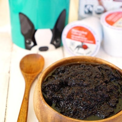 DIY Energizing Coffee Sugar Scrub