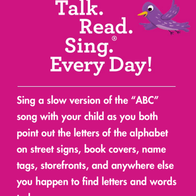 Easy Ways to Talk, Read, & Sing with Your Child