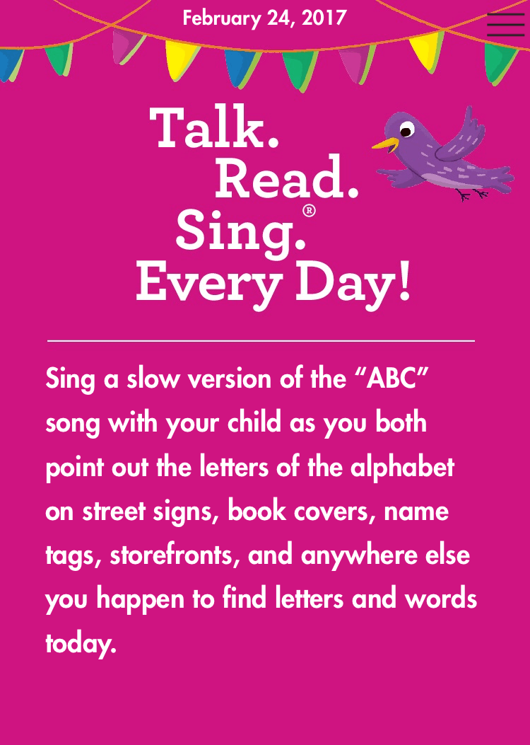 Easy Ways to Talk, Read, & Sing with Your Child - Happiness is Homemade