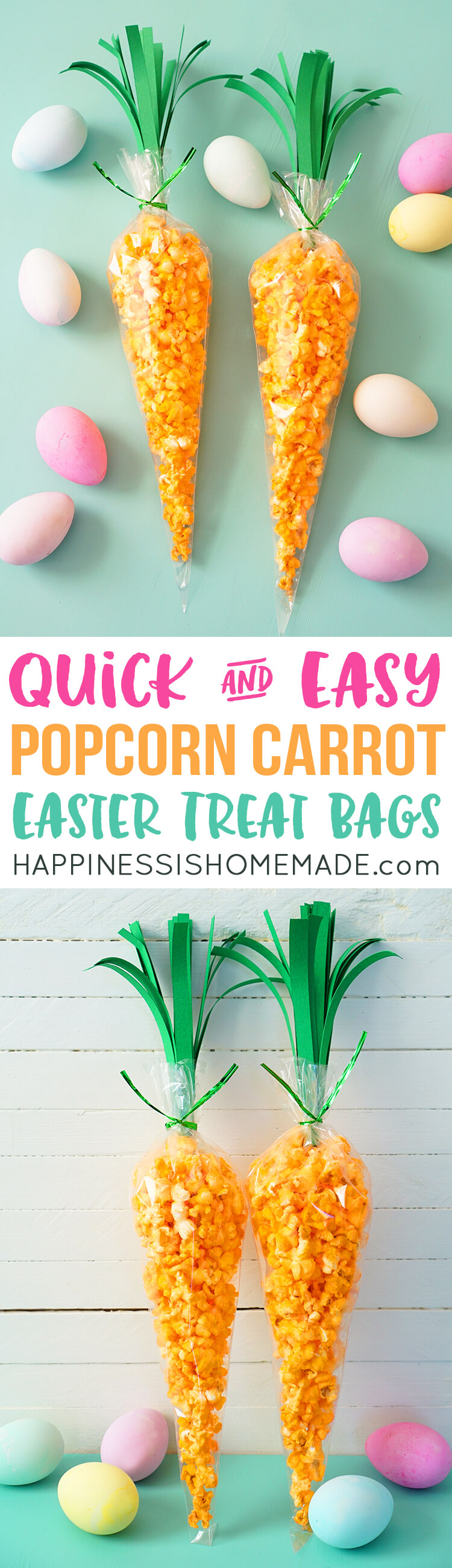carrot treat bags for easter