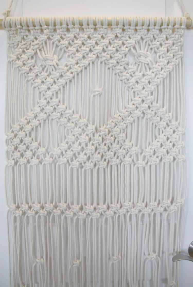 macrame stitches 11 modern macrame patterns happiness is 4087