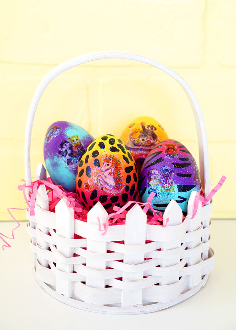 Diy Lisa Frank Easter Eggs Happiness Is Homemade