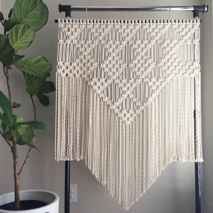 picture relating to Free Printable Macrame Plant Hanger Patterns identify 11 Innovative Macrame Practices - Pleasure is Selfmade