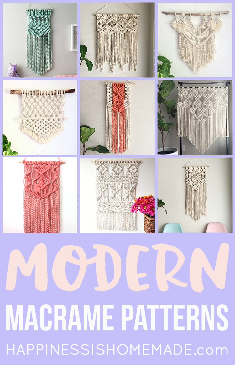 photograph about Free Printable Macrame Plant Hanger Patterns identify 11 Ground breaking Macrame Practices - Contentment is Do-it-yourself