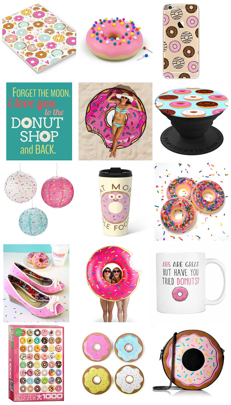 20 Gift Ideas for Donut Lovers - Happiness is Homemade