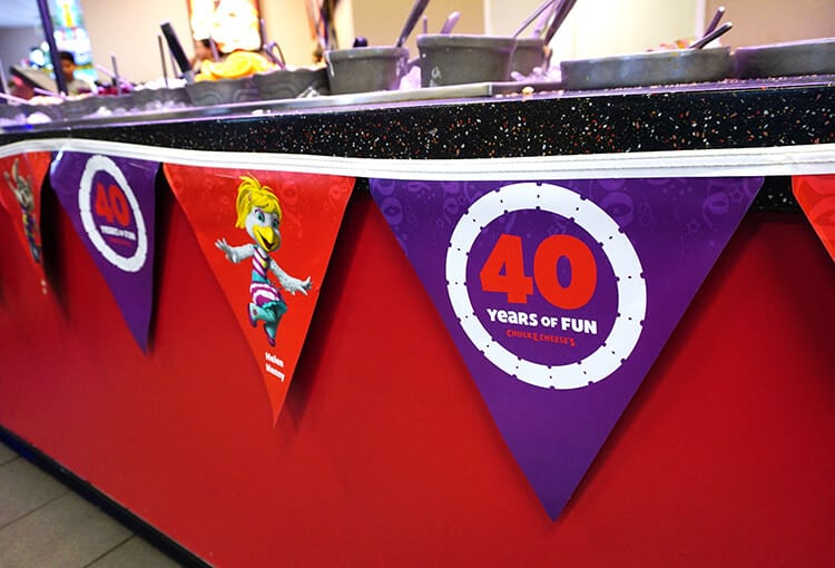 40 Years Of Fun With Chuck E Cheese S Happiness Is
