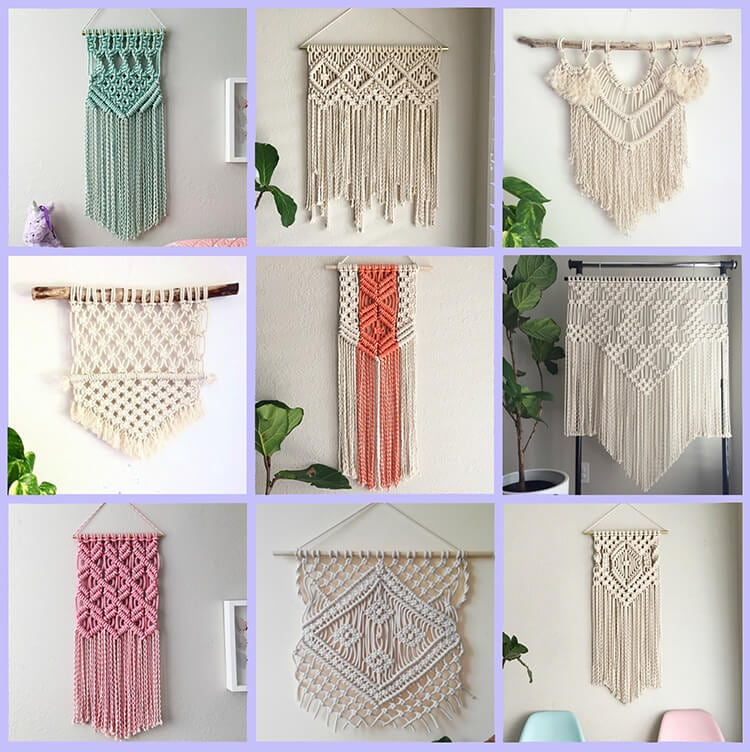 modern macrame patterns 11 modern macrame patterns happiness is 7250