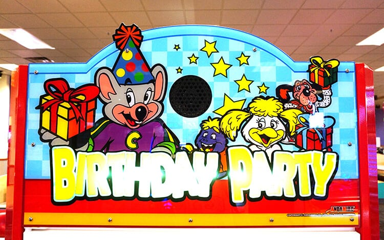 40 Years of Fun with Chuck E. Cheese\'s! - Happiness is Homemade