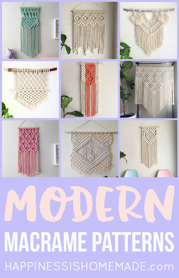 modern macrame patterns 11 modern macrame patterns happiness is 198