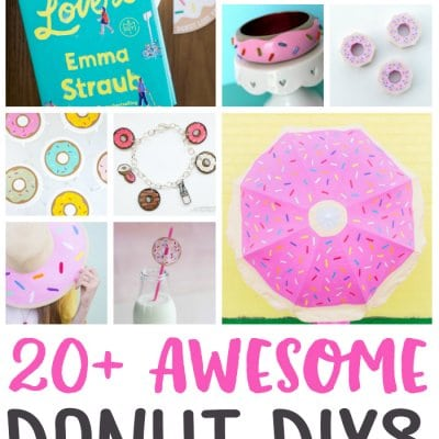 20+Awesome DIY Donut Craft Project Ideas