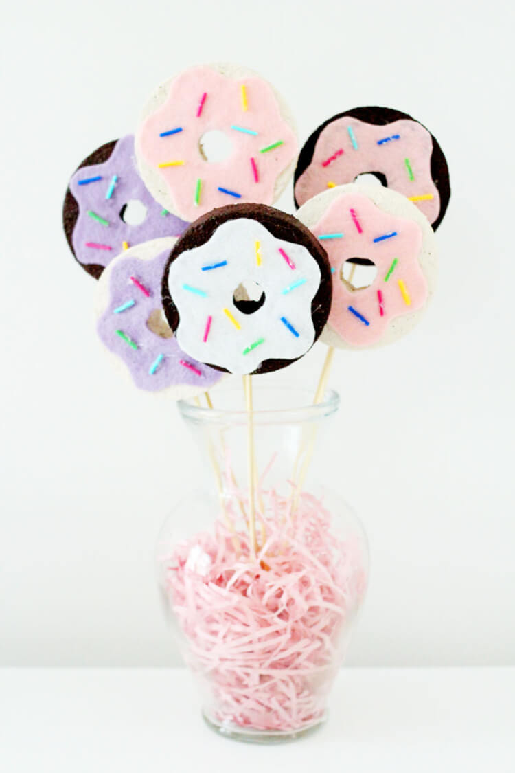 20 Awesome Diy Donut Craft Project Ideas Happiness Is