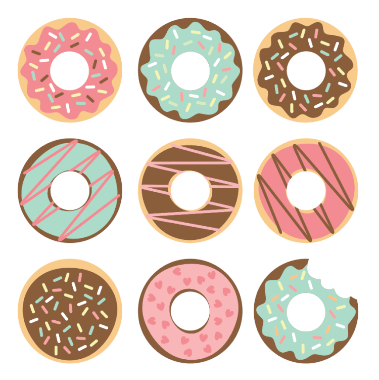 picture relating to Donut Printable named 20+Incredible Do it yourself Donut Craft Challenge Strategies - Joy is Home made