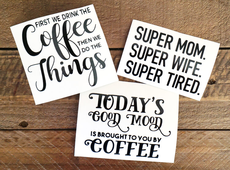 Diy Funny Coffee Mugs Free Svg Cut Files Happiness Is Homemade