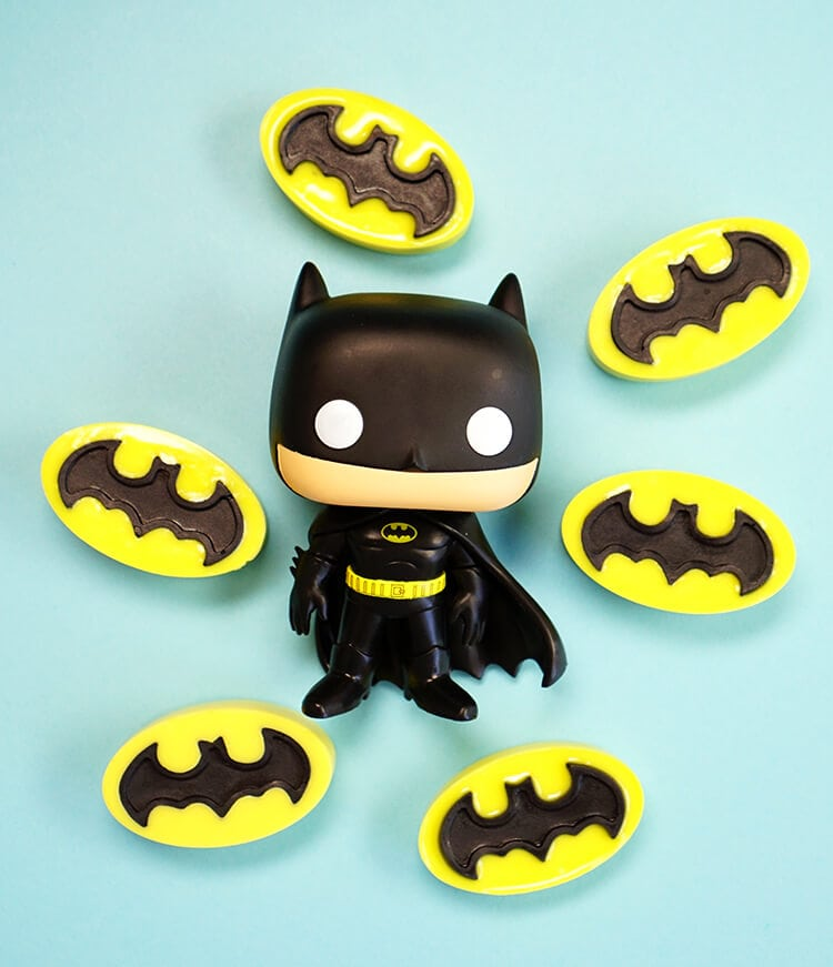 DIY Activated Charcoal Soap - Batman Soaps