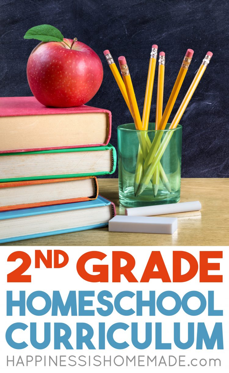 Homeschool Curriculum - 2nd Grade - Happiness is Homemade