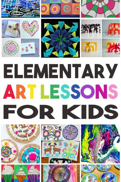 36 Elementary Art Lessons for Kids
