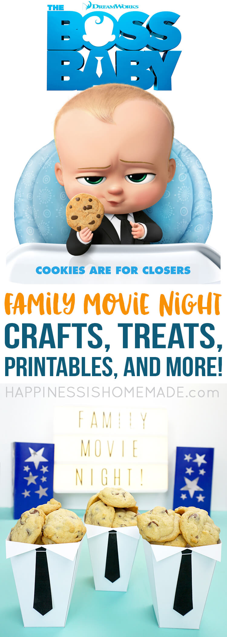 graphic regarding Boss Baby Printable identified as Mini Chocolate Chip Cookies