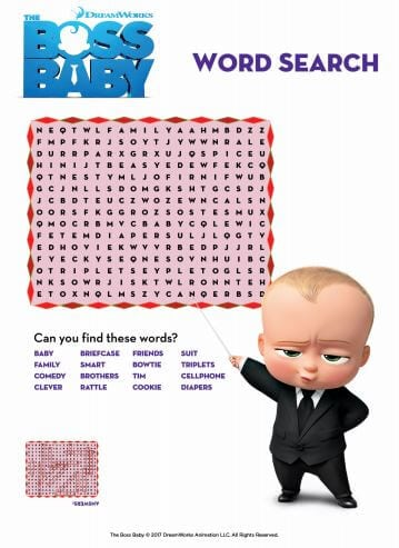 Boss's Day word search puzzle - Find these words in this ...